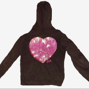 RARE Victoria's Secret PINK Bling Hoodie Sequin